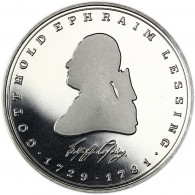 Deutschland 5 DM 1981 PP Gotthold Ephraim Lessing in Münzkapsel