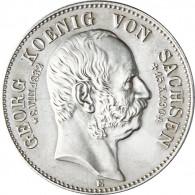 J 132 -  Sachsen  2 Mark 1904  Georg  König von Sachsen