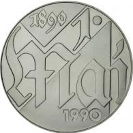 J.1637 - DDR 10 Mark 1990 bfr. Tag der Arbeit, 1. Mai Sonderpreis