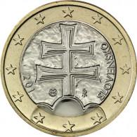 Slowakei 1 Euro 2014 bfr. Doppelkreuz auf den Bergen