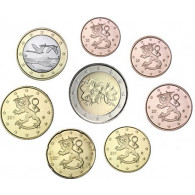 Finnland 3,88  Euro 2004 bfr. lose 1 Cent bis 2 Euro