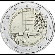 Deutschland-2-Euro-2020-Kniefall-von-Warschau-G-stgl
