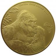 1 Oz Gold Gorilla Gold Ounce 2015 Kongo