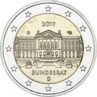 Neue 2 Euro Münze 2019  Bundesrat – Serie Bundesländer