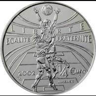 Frankreich-0,25-EUro-2002-Allez-la-France-II