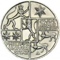 J. 330 Weimar 3  Mark  1927  Uni Marburg  SONDERPREIS