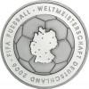 BRD 10 Euro 2003  PP Fußball-WM 2006  1.Ausgabe  Mzz. Historia Wahl
