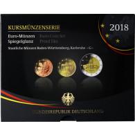 Euro-Kurssatz Deutschland 5,88 Euro 2018 PP im Blister Mzz. G