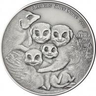 Congo Meerkats 3 Silver Ounces 2013