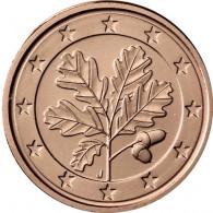 Deutschland 2 Euro-Cent 2019 Kursmünzen mit Eichenzweig Zubehör bestellen
