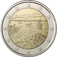 Finnland 2 Euro Sondermünze 2018 Landschaft Koli Gedenkmünze