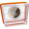 5 Euro 2018 Subtropische Zone Sammlermünzen mit orangen Polymerring