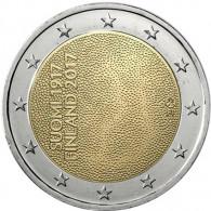 2 Euro Muenzen Finnland 2017 100. Jahre Unabhänigkeit