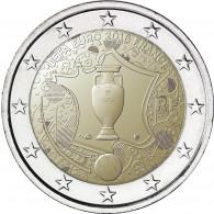 UEFA Fußball-Europameisterschaft 2 Euro Frankreich