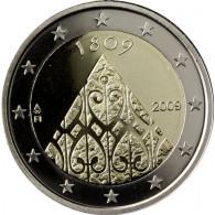 2 Euro Gedenkmuenzen 200. Jahrestag Autonomie Finnland