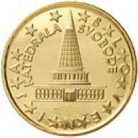 Slowenien 10 Cent 2008 bfr. slowenisches Parlaments- Gebäude