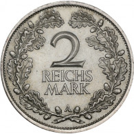 Weimarer Republik Eichenlaubkranz 2 Mark