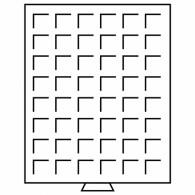 337801 -  Münzenbox MB eckige Einteilungen rauchfarbend