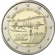 Malta 2 Euro 2015 bfr. 100 Jahre Erster Flug