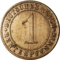 J.306 1 Pfennig 1923 - 1924 Rentenpfennig