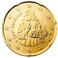 San Marino 20 Cent 2002 bfr. Heiliger Marinus