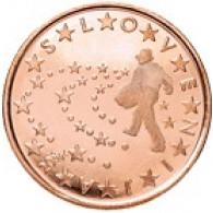 Slowenien 5 Cent 2008 bfr. Bauer beim Säen - Ivan Grohar