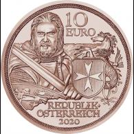 Österreich-10-Euro-2020-Standhaftigkeit-Kupfer-I