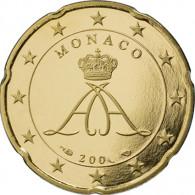 Monaco 20 Cent 2013  bfr. Fürst Albert II