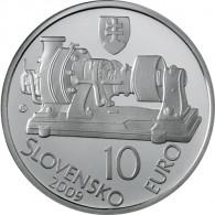 Slowakei 10 Euro 2009 PP Erfinder Aurel Stodola