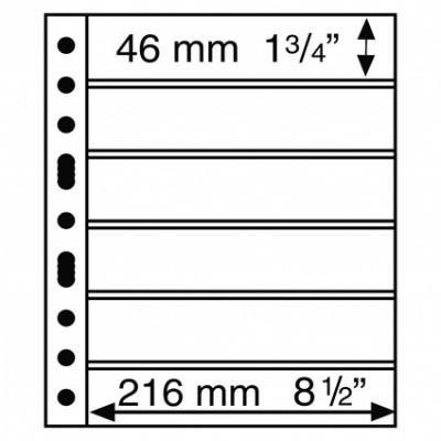 331156 -  Grande Hülle S 6 5er Pack  Schwarz  Briefmarken