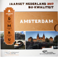 Niederlande Kursmuenzen 3,88 Euro 2017 Amsterdam