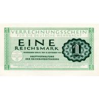 Banknote - 1 Reichsmark 1944  Deutsche Wehrmacht