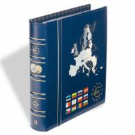 341041-  VISTA Euro Münzalbum Band 2 inkl.Schutzkassette