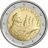 San Marino 2 Euro  Kursmünzen mit neuen Motiven für Sammler  2017
