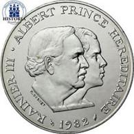 Monaco 100 Francs 1982 bfr. Fürst Rainier und Kronprinz Albert