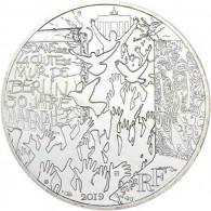 10 Euro Gedenkmünze Frankreich 2019 10 Euro Silber  30 Jahre Fall der Berliner Mauer