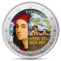 Vatikan-2-Euro-2020-Raffaello_Farbe_SHOP
