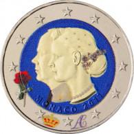 Hochzeit in Monaco 2011 2 Euro Sondermünze