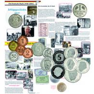 Kursmünzen Typen Sammlung der BRD Alle Münztypen aus  DM Zeiten 20 Münzen
