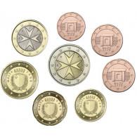 Malta Euro Kursmünzen 3,88 Euro 2008 bankfrisch