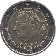 Belgien 2 Euro 2010 bfr. König Albert II.
