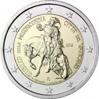 Jahr der Barmherzigkeit 2016 Vatikan 2 Euro Sondermünze