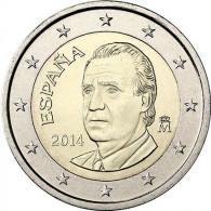 2 Euro Münze Juan Carlos