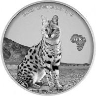 Serval Silbermünzen in Antique Finish 2019 online kaufen