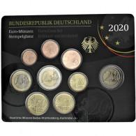 Deutschland 3,88 Euro 2020 KMS Stempelglanz Münzzeichen: G