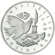 Details zu  Deutschland 10 DM Silber 1998 Stgl. 300. Jahrestag des Westfälischen Frieden