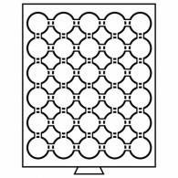 331986 - Münzbox 30 Fächer für CAPS 33