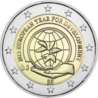 2 euro Münzen Jahr der Entwicklung Belgien