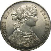 Vereinstaler  Francofurtia Freie Stadt Frankfurt  1859 -1860  Rothschild Love Dollar