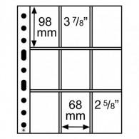 358077 -  Kunststoffhüllen SH 312 , 9 Taschen